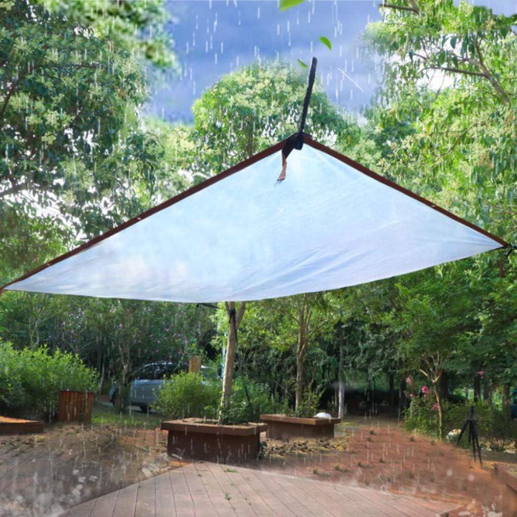 Lonas Impermeables Exterior Transparente Piscina Suelo Camping Jard/ín con Ojales Lona Impermeable Pergola para Construcci/ón Muebles Extremadamente Resistente de Techado