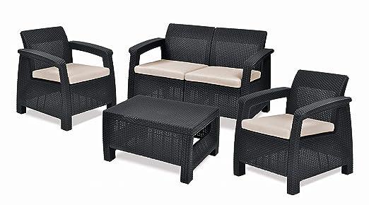 Keter Corfu, juego de muebles de exterior