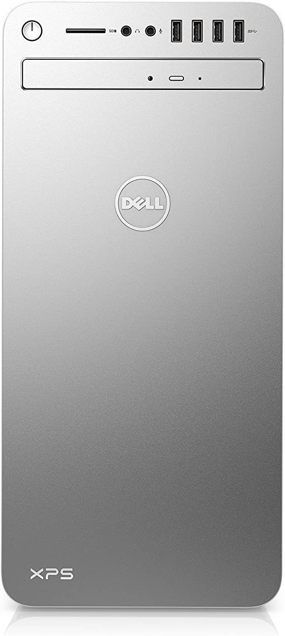Dell XPS 8920 Special Edition Silver Desktop - Intel Core i7-7700 7th Gen Quad-Core up to 4.2 GHz, 8GB DDR4 Memory, 1TB SATA Hard Drive, 2GB Nvidia GeForce GT 730, DVD Burner, Windows 10