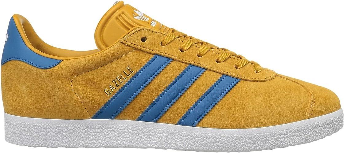 offre Adidas Originals Gazelle Chaussure bleu Jaune haute