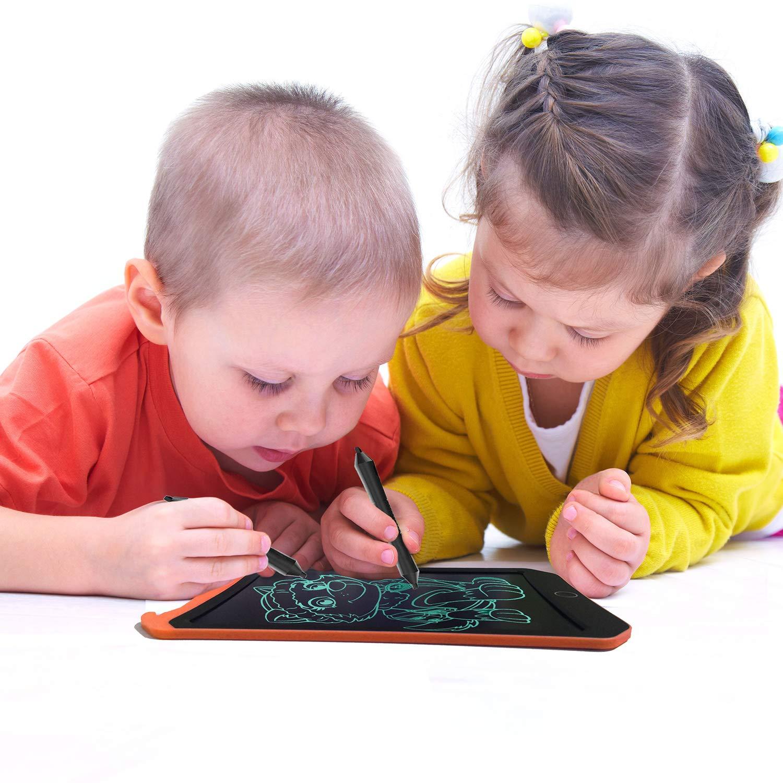 """Cumplea/ños para Ni/ños De 3-12 A/ños JRD/&BS WINL8.5/"""" Writing Tablet For Kids Toys,Tablero De Dibujo A Color para Ni/ños,Juguetes para Ni/ños De 4-8 A/ños Rosa01 D"""
