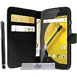Coque Huawei Motorola E 4G , Etui Ultra Protecteur pour Motorola E 4G Housse Luxe Slim Portefeuille avec Support Video Motorola E 4G
