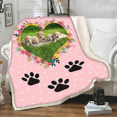 Personalized Pet Blanket-Fleece Dog Blanket-Crate Blanket-Puppy Blanket-Handmade-Minky Blanket-Pet Supplies-Pet Bedding