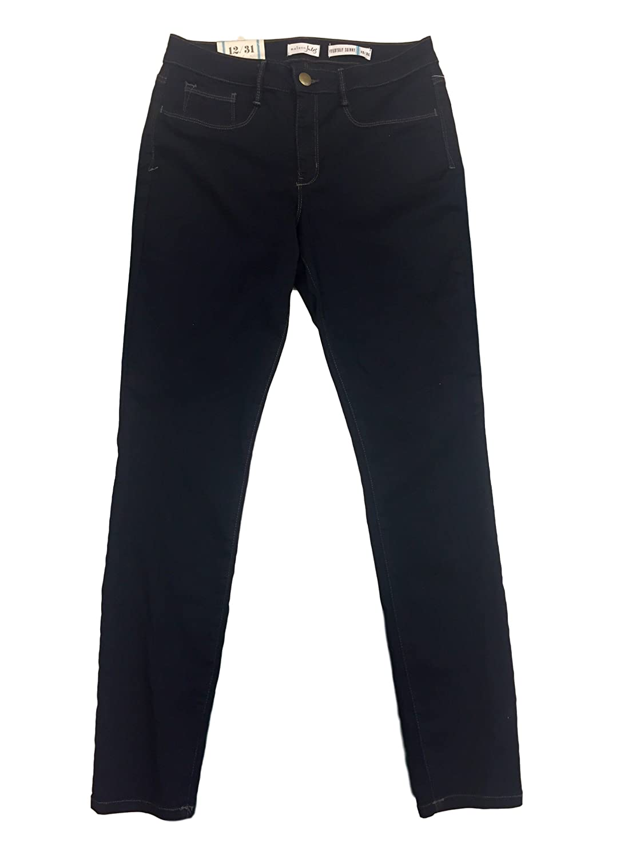 Maison Jules Skinny Jeans, Sateen Rinse Wash 12