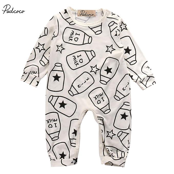 Pudcoco Kids Buttons Up Sleep And Play Suit Long Sleeve Newborn Infant Baby Boy Girl Sleeper Sleepwear Pijamas Pyjamas Blanket Sleepers Mother & Kids