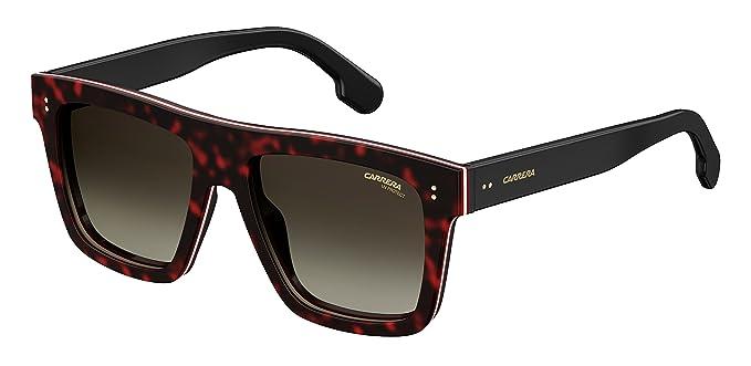 acd4cfeb1b8 Amazon.com  Carrera 1010 s Rectangular Sunglasses DKHAVANA 55 mm ...