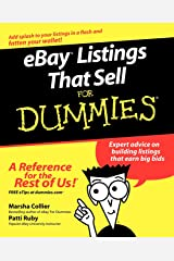 eBay Listings That Sell For Dummies Paperback