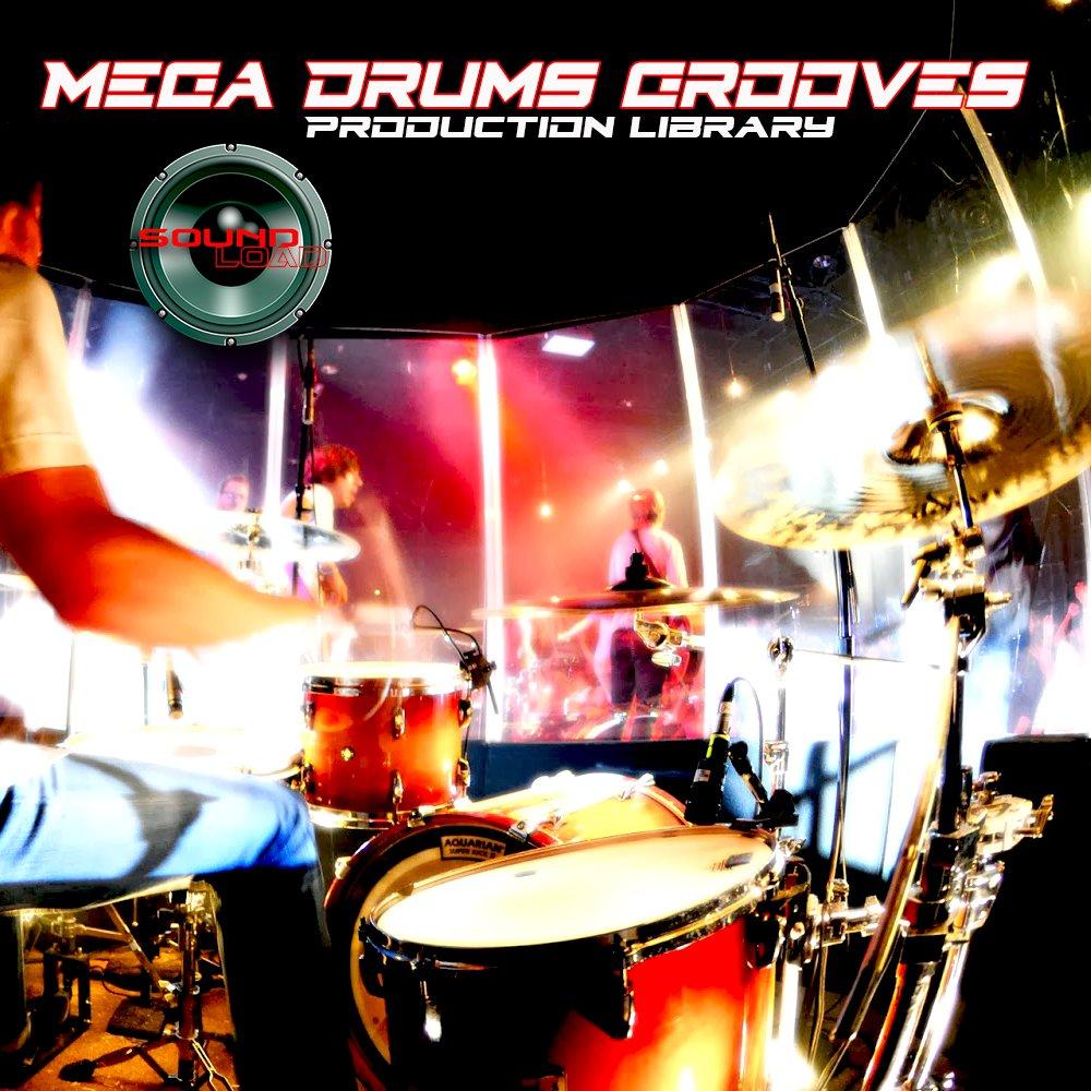 MEGA DRUMS GROOVES Huge Samples/Groove/Loops Library 4.1GB on DVD