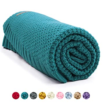 Amazon Com Mimixiong Baby Blanket Knit Toddler Blankets For Boys
