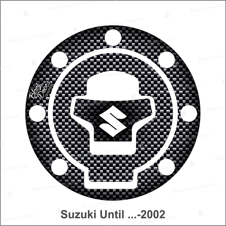 Protection adh/ésive bouchon de r/éservoir en r/ésine compatible avec Suzuki jusqu/à 2002 y compris et Vstrom jusqu/à 2011