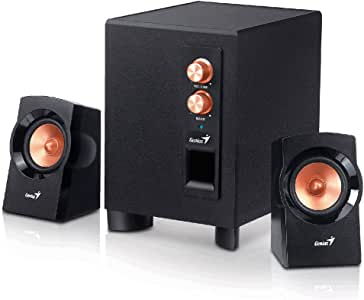Genius SW-2.1 360 - Pack de altavoces, color negro: Amazon.es ...