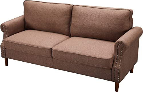 Dolonm Sofa Couch Loveseat Futon Upholstery Sectional Modern 3 Person Sofa
