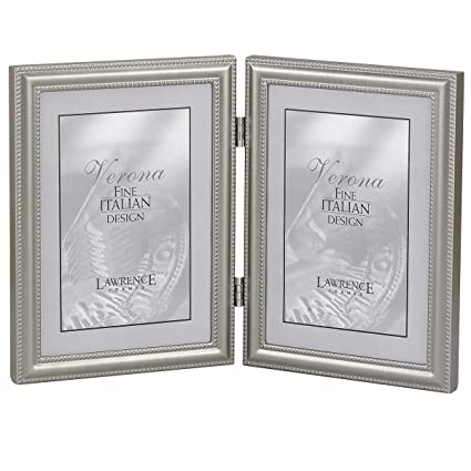 Amazon.com - Lawrence Frames Hinged Double (Vertical) Metal Picture ...