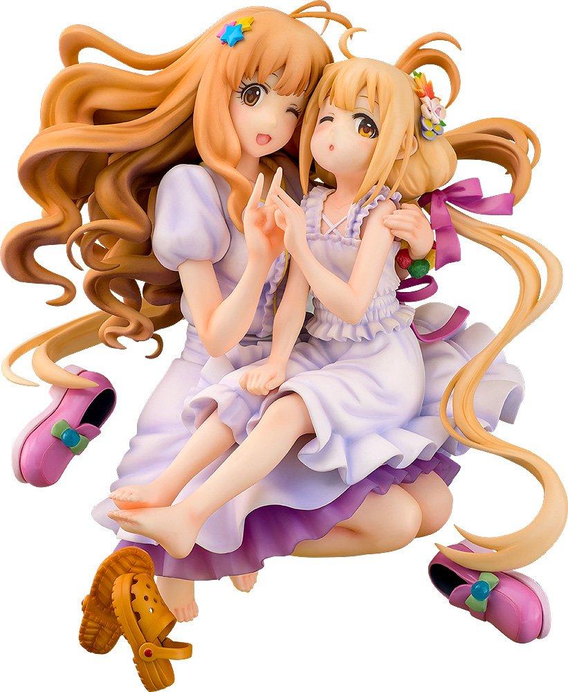 The Idolmaster Cinderella Girls Kirari Moroboshi  Anzu Futaba 1/8 Scale Figura