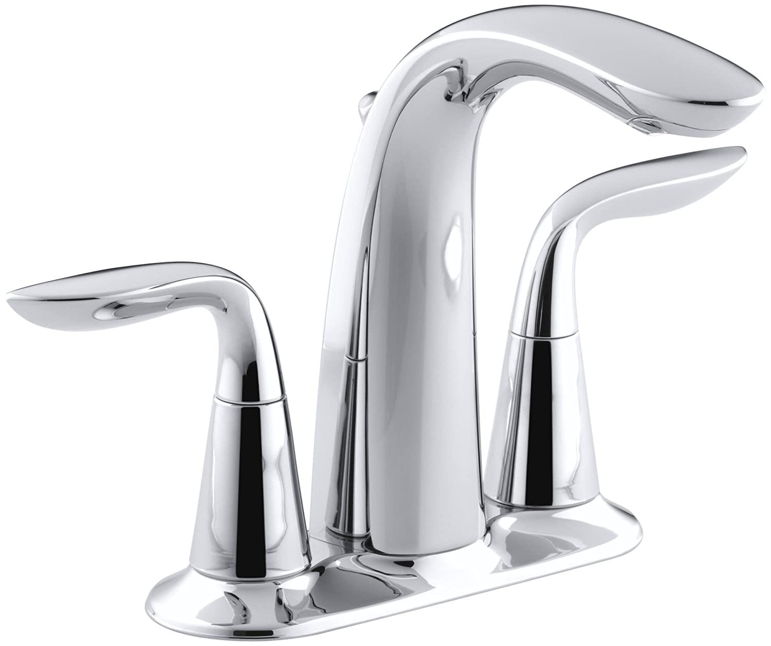 p ppu delta faucet in eco centerset foundations chrome bathroom sink handle faucets