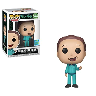 Funko Pop!: Rick & Morty - Tracksuit Jerry [SDCC 2020]: Home & Kitchen