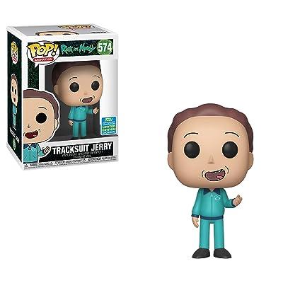 Funko Pop!: Rick & Morty - Tracksuit Jerry [SDCC 2020]: Home & Kitchen [5Bkhe1103249]