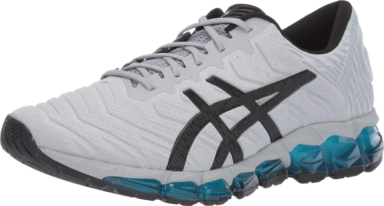 ASICS - Gel-Quantum 360 5 - Zapatillas de correr para hombre, Gris (Piedmont Gris/Negro), 40 EU: Amazon.es: Zapatos y complementos