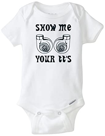 aa2c60a3306 Show Me Your TT S Funny Baby Onesie Blakenreag Baby Boy Girl Clothes  Bodysuit (18 Month