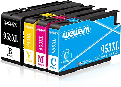 Wewant 953XL Cartucho de tinta Compatible para usar en lugar de HP ...