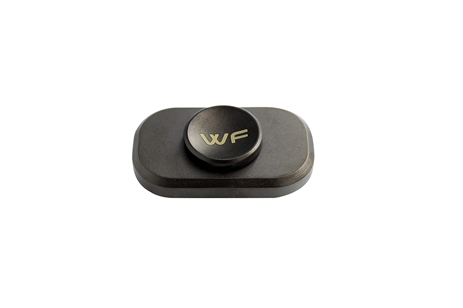 WeFidget Original Mini The Bar Premium Hand Fidget Spinner, Designed for Stress and Anxiety Relief. Metal Travel Case Included