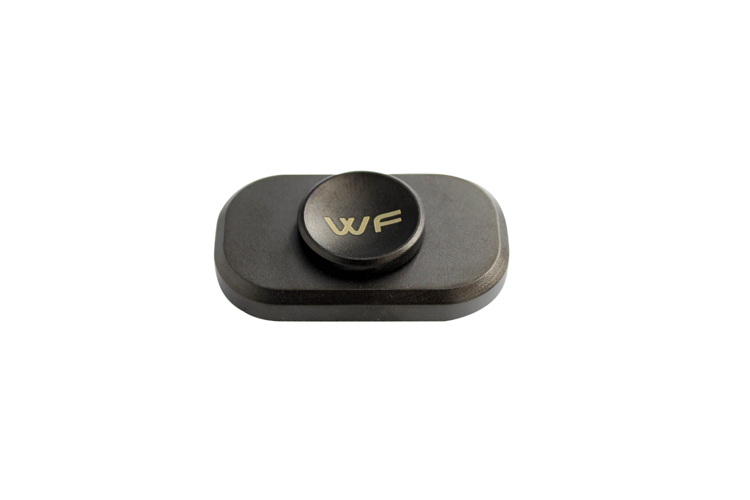 WeFidget Original Mini The Bar Premium Hand Fidget Spinner, Designed for Stress and Anxiety Relief. Metal Travel Case Included by WeFidget