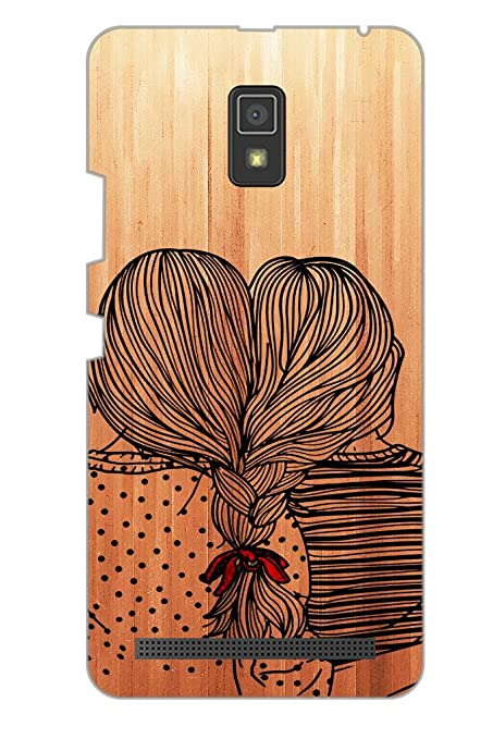 100% authentic 58664 10773 AMAN Girls 3D Back Cover for Lenovo A6600 Plus: Amazon.in: Electronics