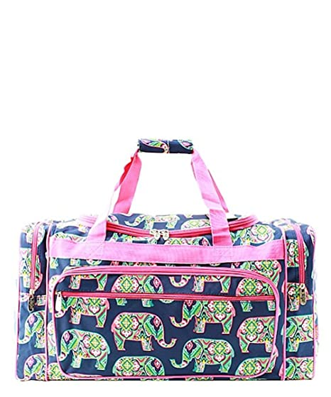 44211d5732 23 quot  Travel Weekender Overnight Carry-on Duffle Bag 2 (Elephant ...