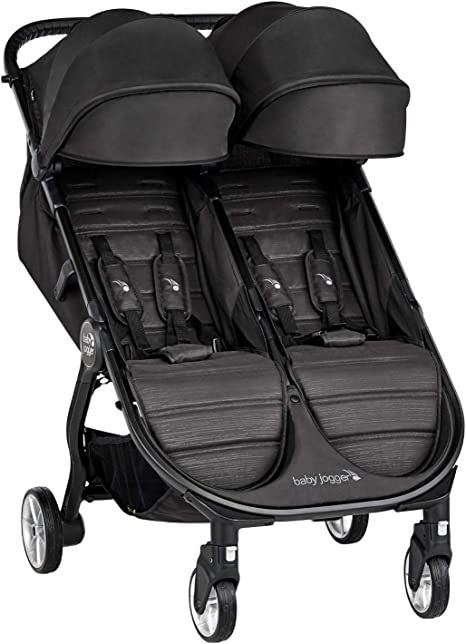 Opinión sobre Baby Jogger City Tour 2 Doble Jet - Cochecito gemelar desde nacimiento. Color negro