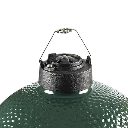 Amazon.com: Tapa de chimenea de hierro fundido de doble ...