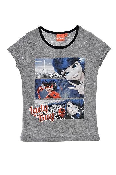 T Shirt Manches Courtes Fille Miraculous
