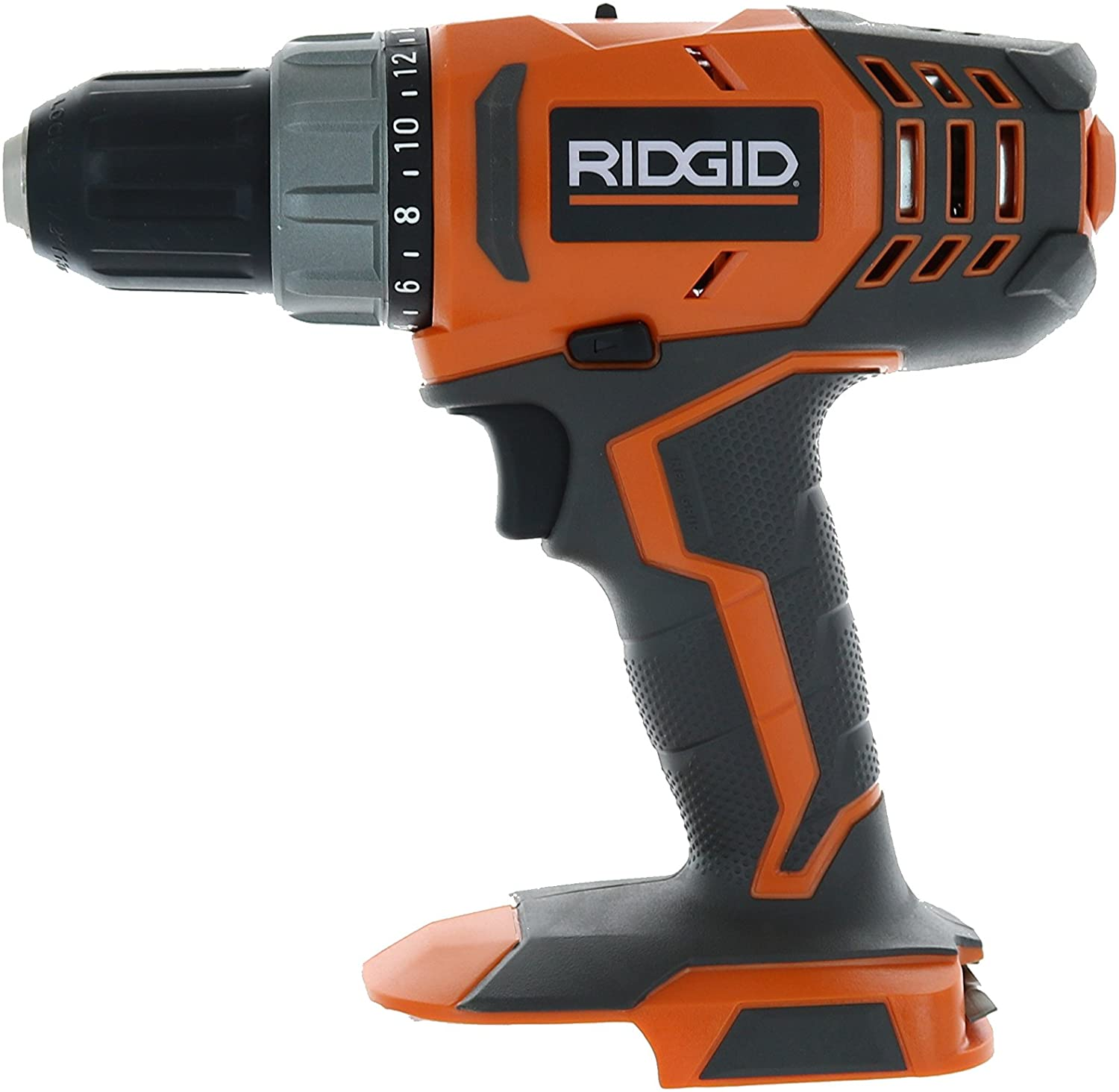 RIDGID R860052 18-Volt Lithium-Ion 1 2 in. Cordless Compact Drill Driver Bare Tool Only – Battery and Charger Not Included