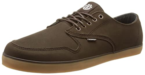 Element Topaz Premium - Zapatillas de Deporte de Otra Piel para Hombre Marrón Marron (138) 44: Amazon.es: Zapatos y complementos