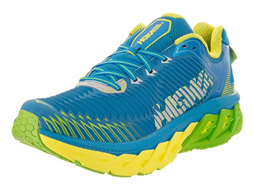 9ac25a974c77 Hoka One One Men s Arahi Blue Aster Blazing Yellow Running Shoe 10 Men US   Buy Online at Low Prices in India - Amazon.in
