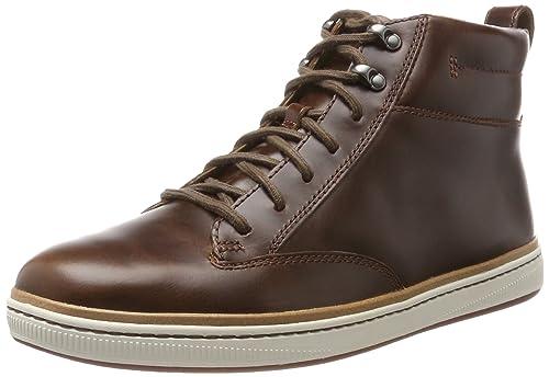 Clarks Norsen Mid, Botines para Hombre: Clarks: Amazon.es: Zapatos y complementos