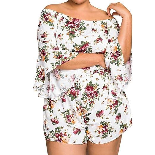 e03037ec9ba Amazon.com  Swyss Plus Size Jumpsuit