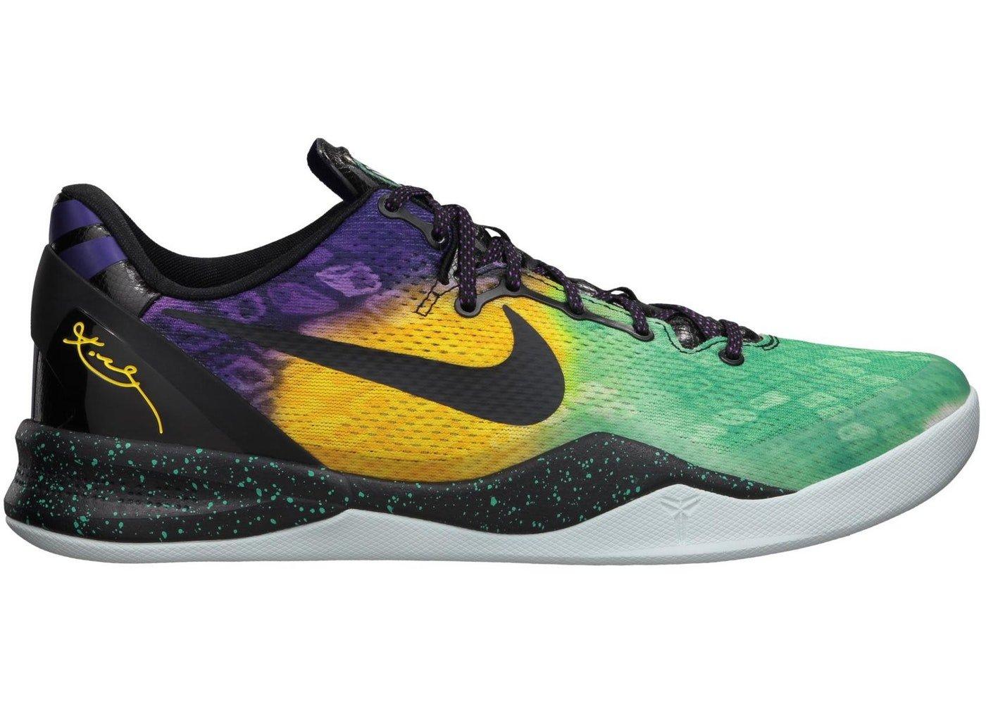 super popular a1fb6 b78ac Amazon.com  Nike Kobe 8 System Easter Fiberglass Court Purple-Black-Laser  Purple Size 14  Sports   Outdoors