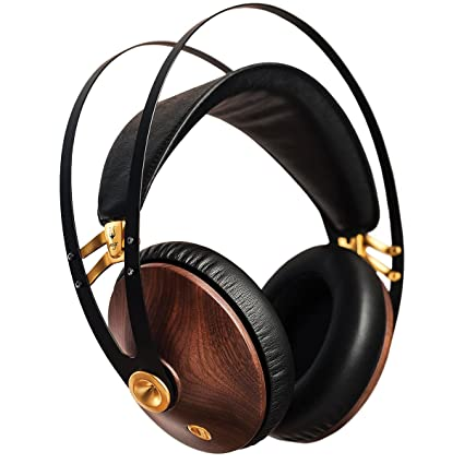 Meze 99 Classics Walnut Gold Headphones (Gold & Black)