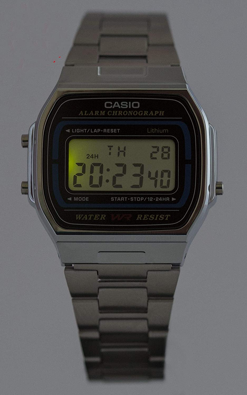 89b2c67bda9a39 Casio Collection Unisex Watch A164WA-1VES: Casio: Amazon.co.uk: Watches