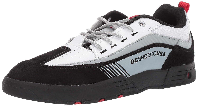 Noir Blanc Rouge DC chaussures DCADYS100445 - Legacy 98 Slim Homme 45.5 EU