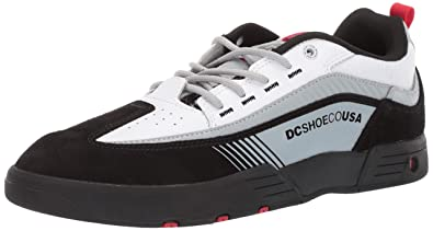 981c1bd823bc DC Men's Legacy 98 Slim Skate Shoe Black/White/red 6 ...