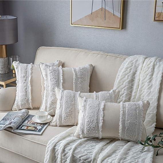 Amazon.com: DEZENE - Fundas de almohada decorativas para ...