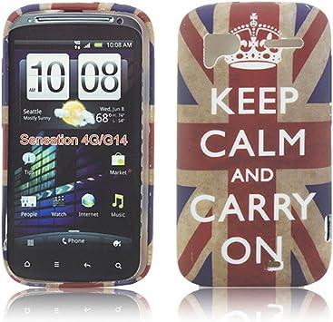 thematys® - Funda para Smartphone HTC, HTC Sensation/HTC Sensation ...