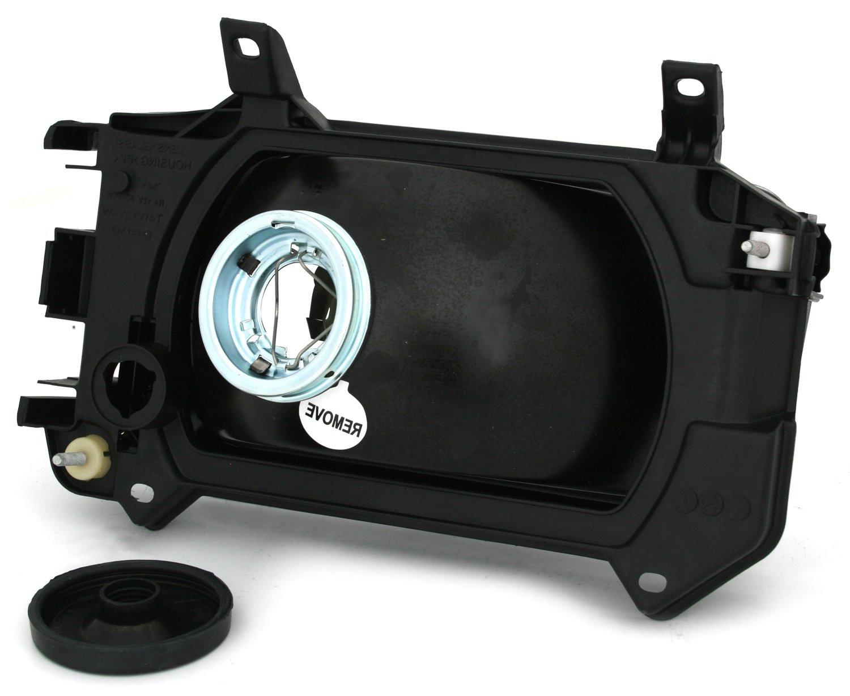 Fahrerseite KG Halogen Scheinwerfer H4 AD Tuning GmbH /& Co Linke Seite