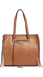 947452979 Amazon.com: Rebecca Minkoff Mini Unlined Tote with Whipstich, Almond ...