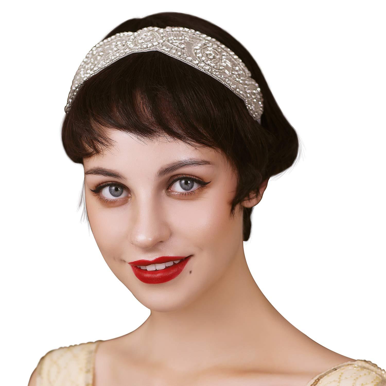 Feder Kopfstück Flapper 20er Jahre Vintage Stirnband Fascinator