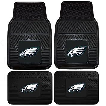 Amazon.com: NFL Philadelphia Eagles Car Floor Mats Heavy Duty 4 ...