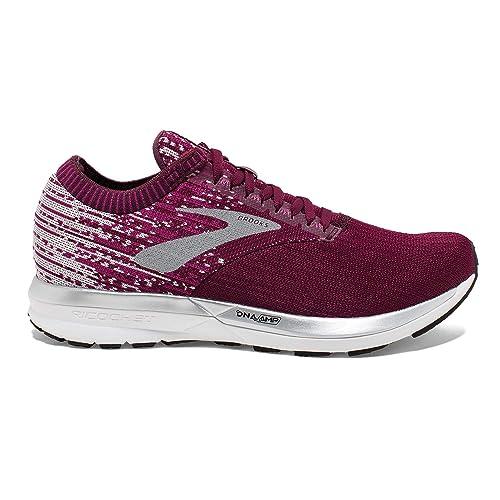 70118de50a23b Brooks Women s Ricochet Running Shoe (BRK-120282 1B 4252610 5 (658) FIG