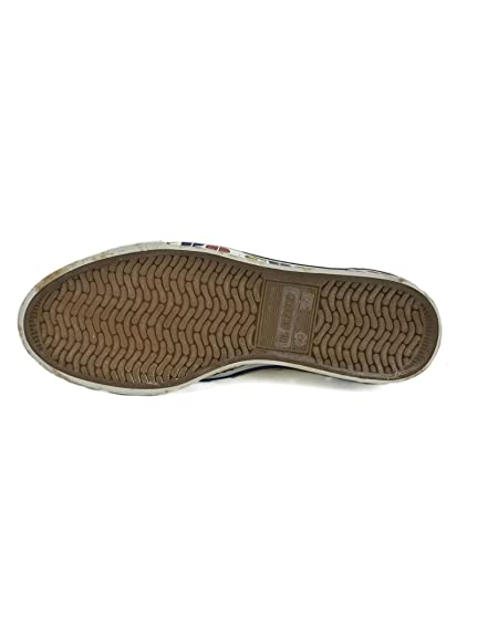 El Charro Vintage Canvas Slip-On White (stains included ) EU40 pA0zE