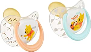 NUK Latex Soother, Small, 2 count